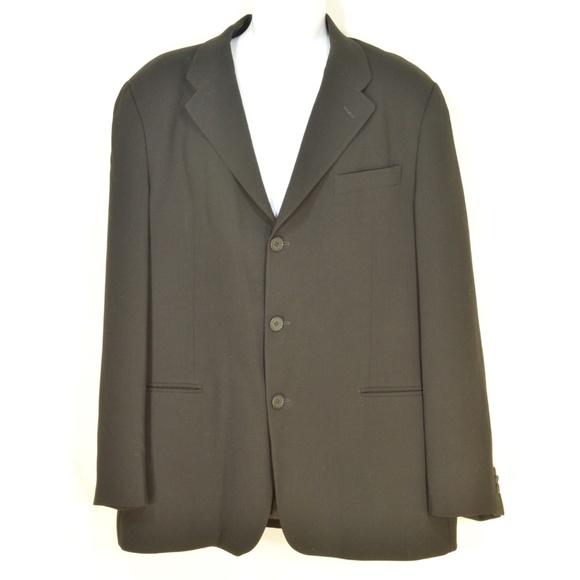 Emporio Armani Other - Emporio Armani sports coat blazer SZ 44 black 100%